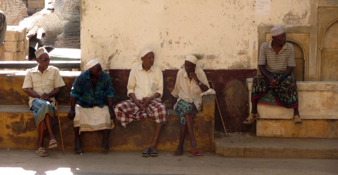Old men in Lamu. ©Bunch of Backpackers.