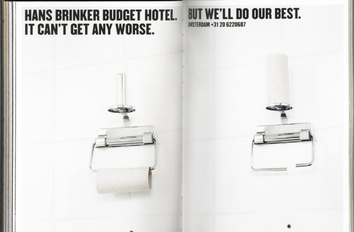 Advertisement Hans Brinker Hotel. ©Hans Brinker Hotel.