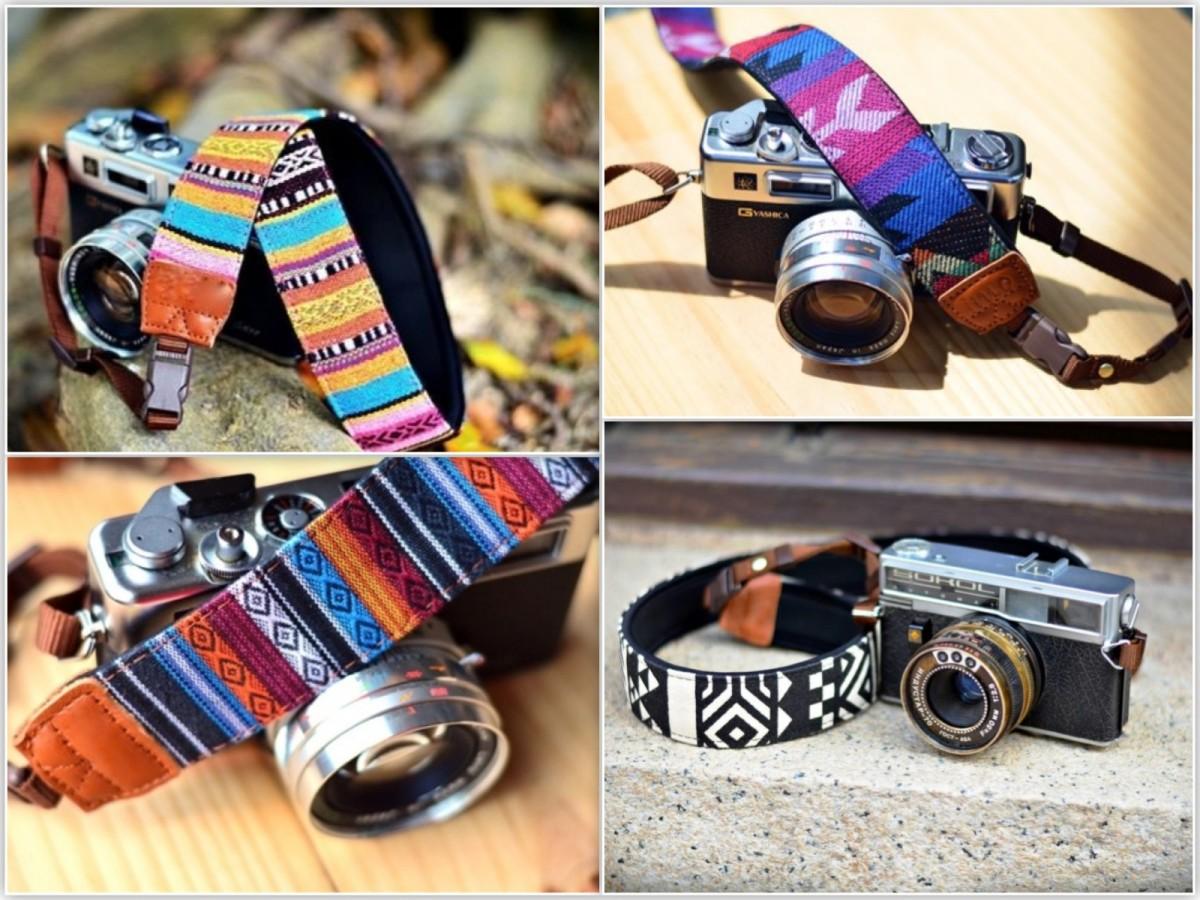 Camera straps from the Kekke Camerariem store. ©Kekke Camerariem.