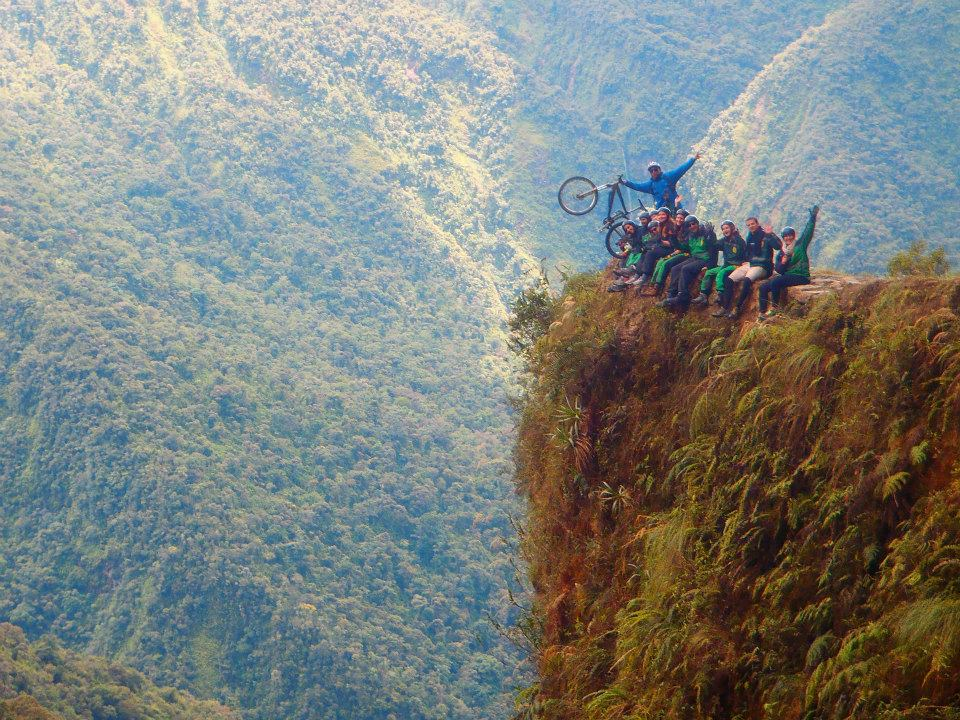Cycling the Most Dangerous Road in Bolivia ©Tapashia.