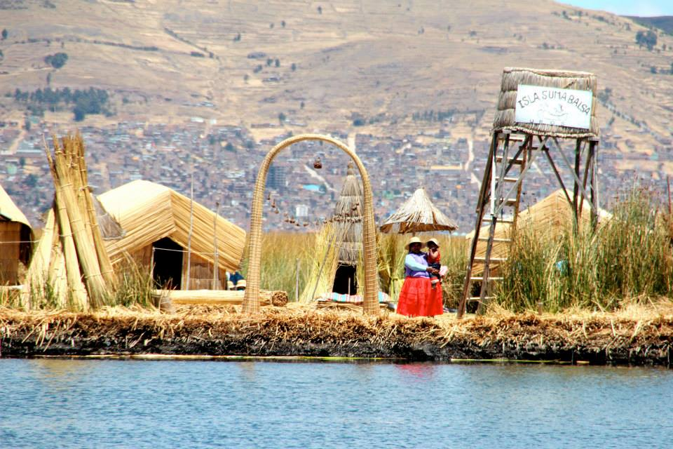 Uros Islands Bolivia. ©Tapashia