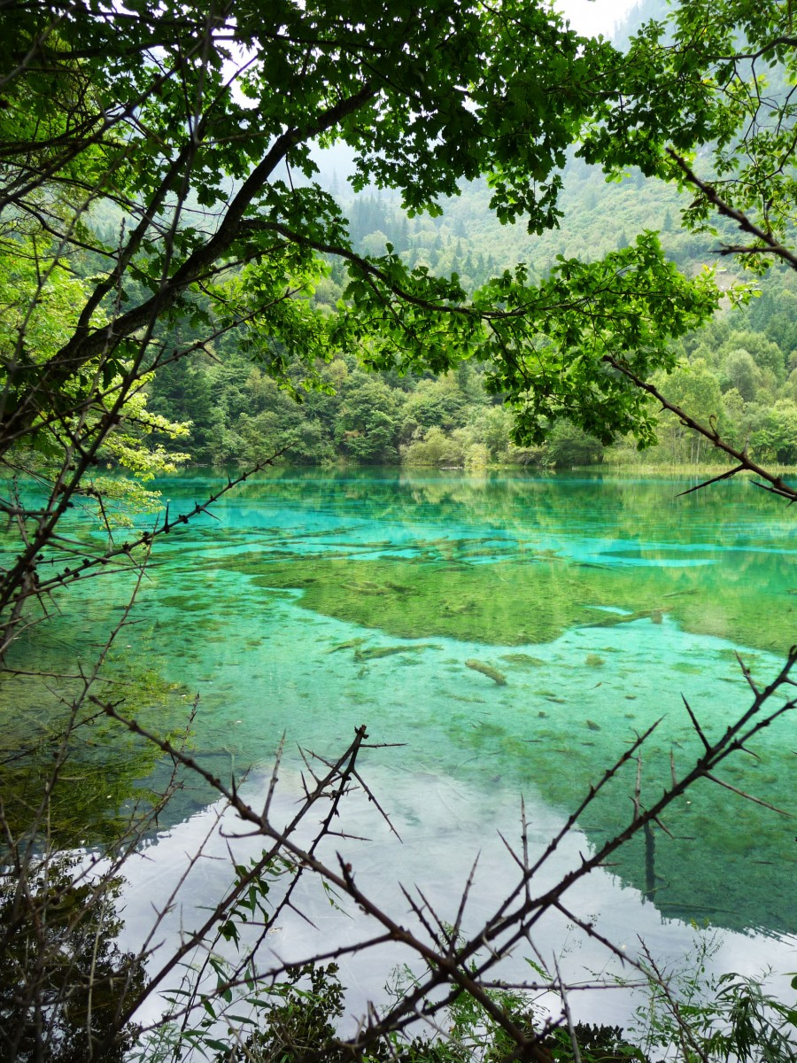 Jiuzhaigou colours