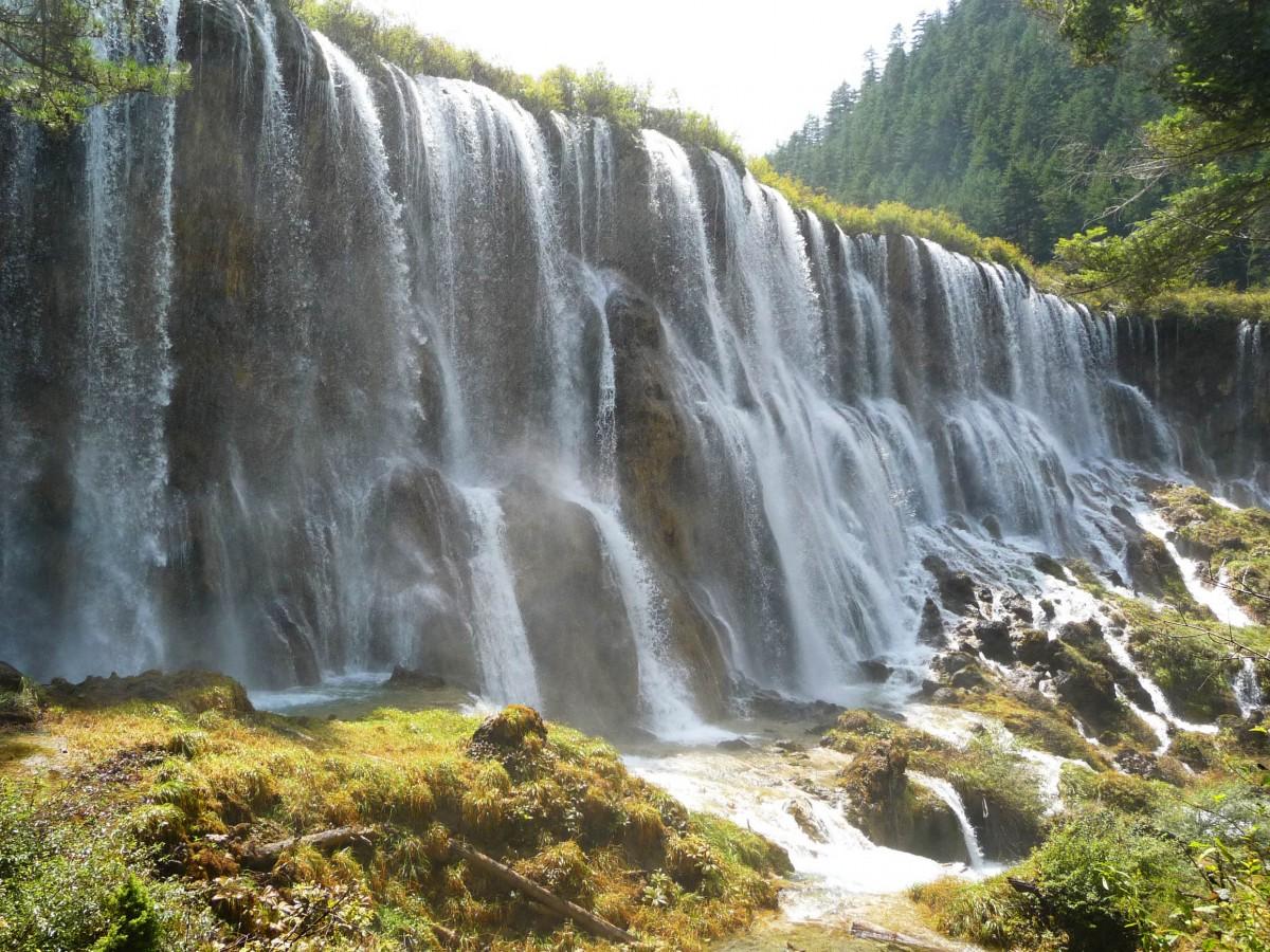 Waterfall Jiuzhaigou National Park