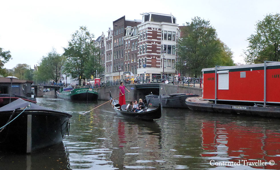 Life on Amsterdam canals.