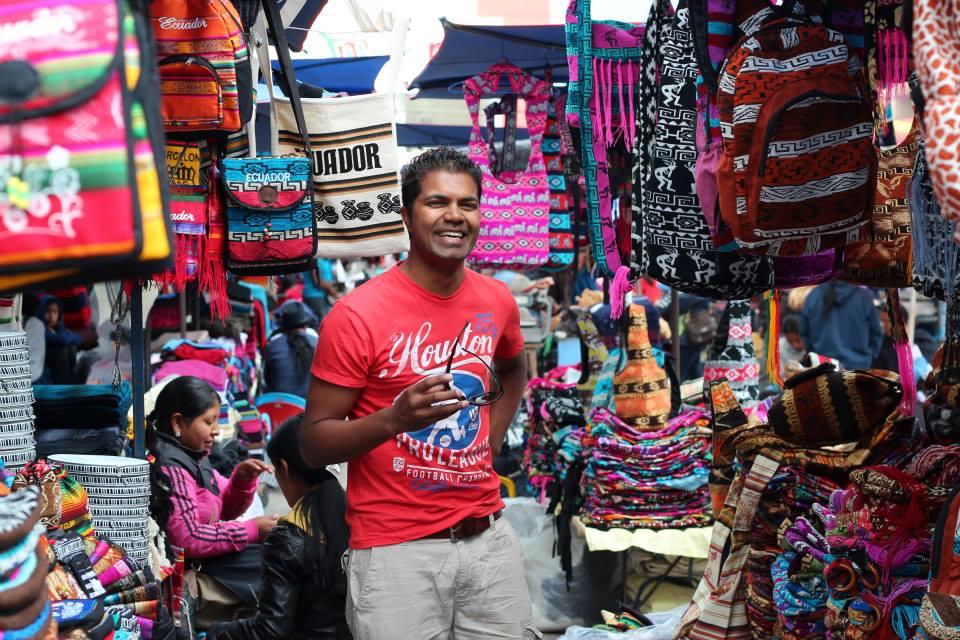 Otavalo Market Ecuado