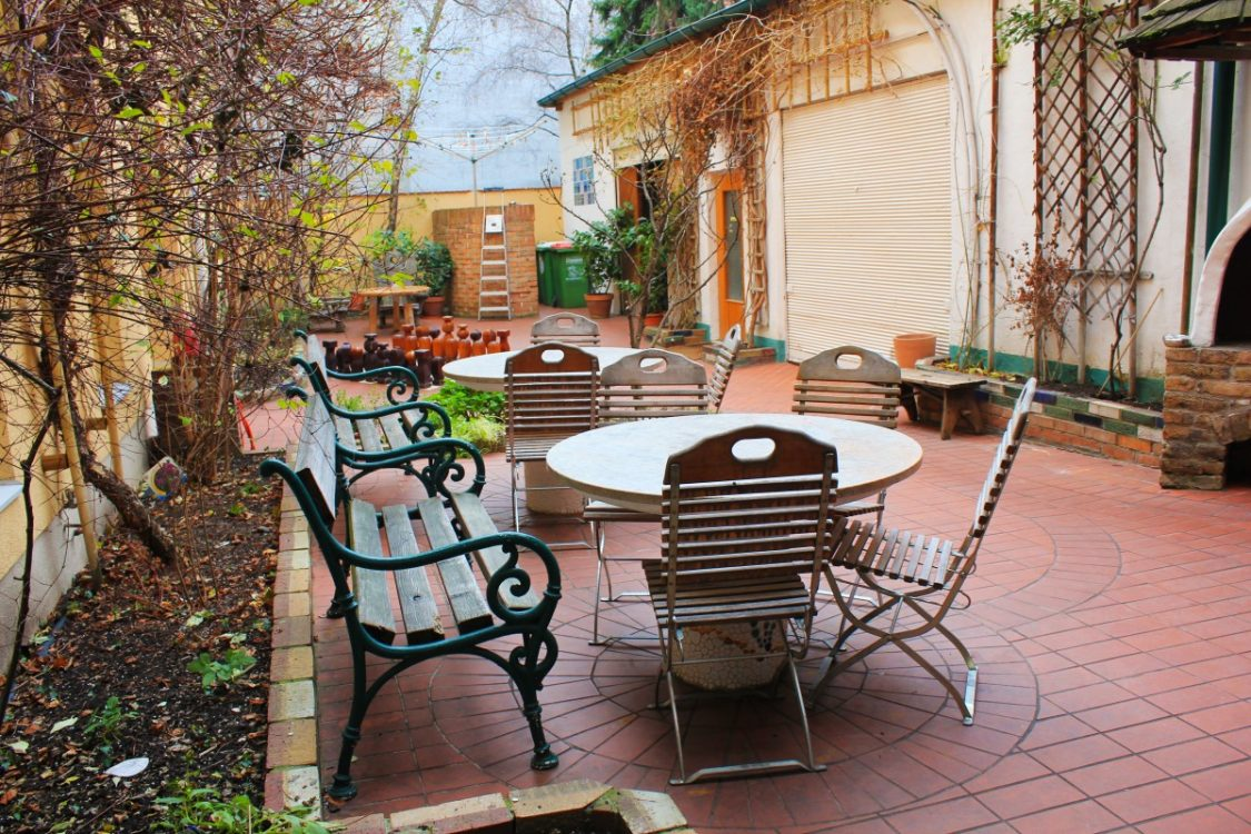 Garden Ruthensteiner Hostel