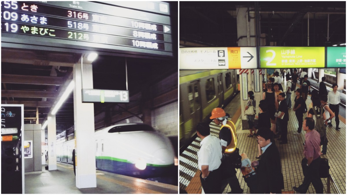 Quirky Japan punctuality
