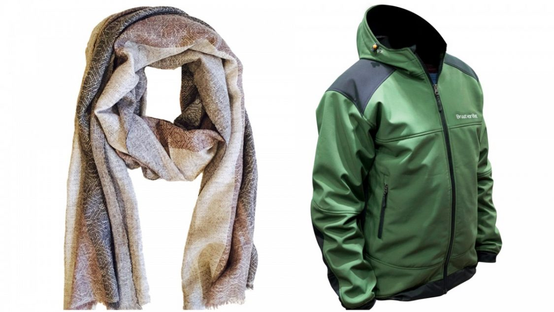 Scarf and jacket Bruut van Bot Nepal 2