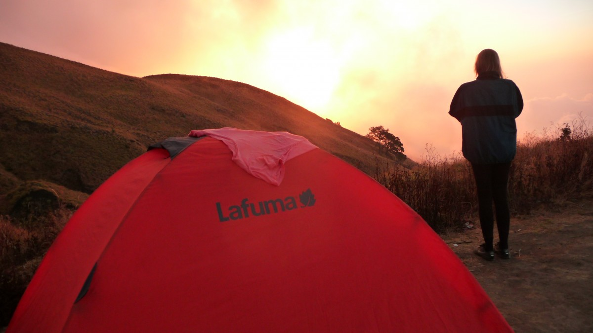Camping for beginners ©Bunch of Backpackers.