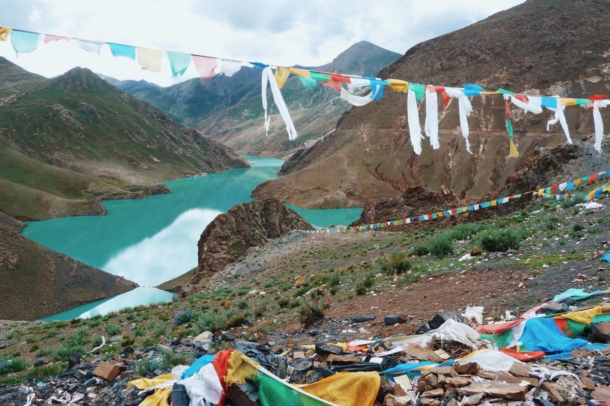 The Tibet photo I tweeted. ©Bunch of Backpackers.