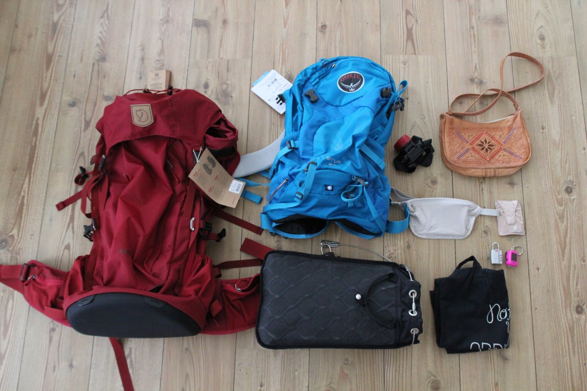 My packing list for 6 months of backpacking Southern ...