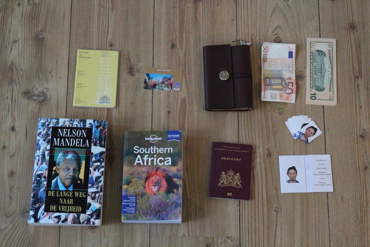 Documents / books - Packing list 6 months of backpacking. ©Bunch of Backpackers