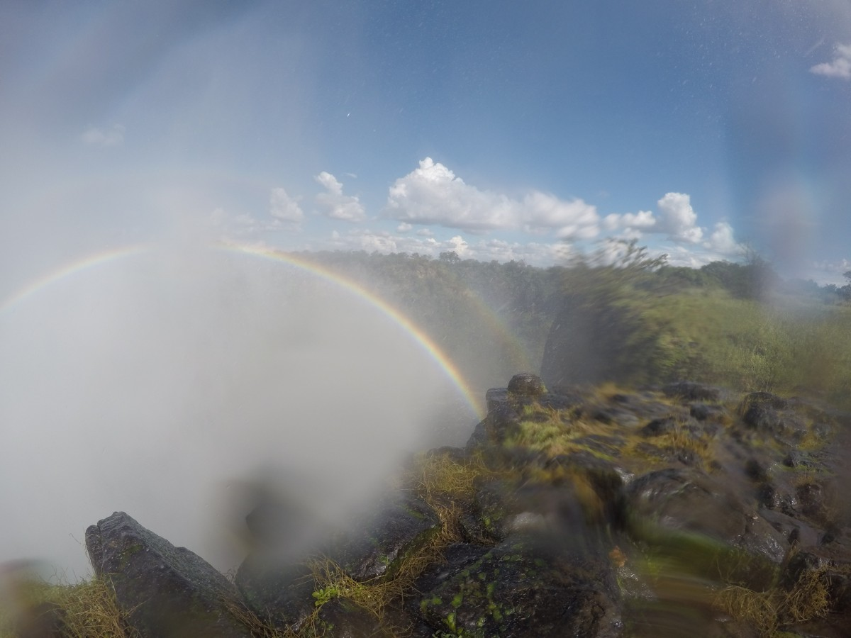 Visiting Victoria Falls