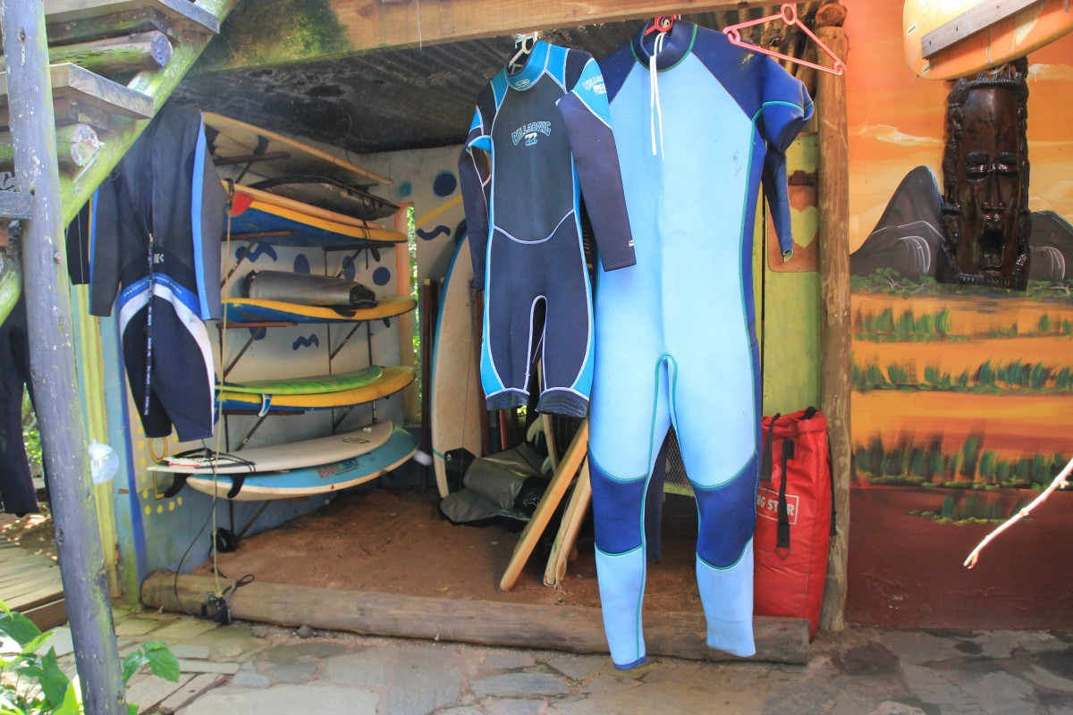 South Africa is fun place to try you're first surf moves on the waves!