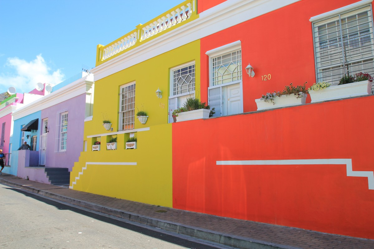 Bo Kaap Capetown Bunch of Backpackers