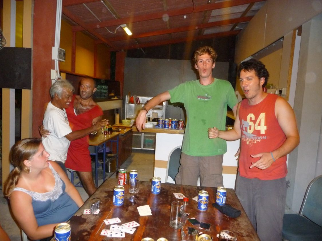 Weird nights at Zackry Guesthouse. Top 10 Best Party Hostels. Copyright Bunch of Backpackers
