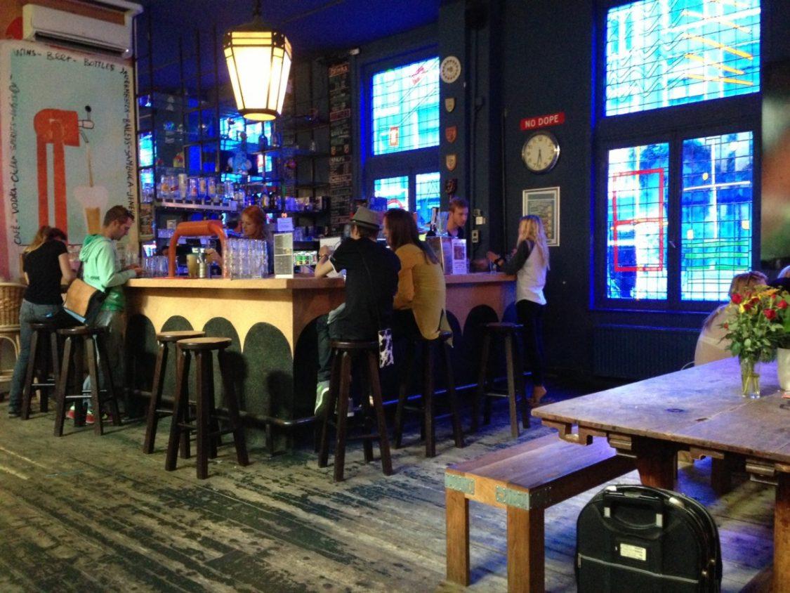 Bar Hans Brinker Hotel.