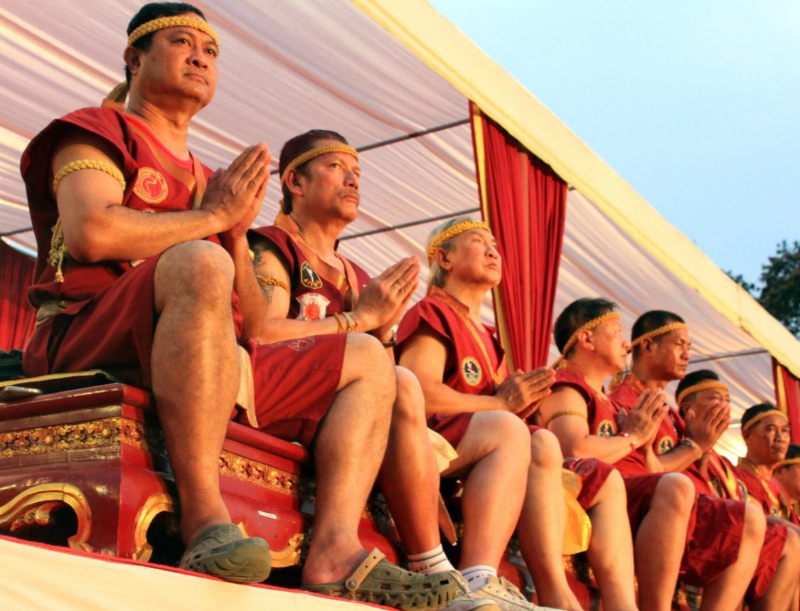 10th Wai Kru ceremony in Thailand