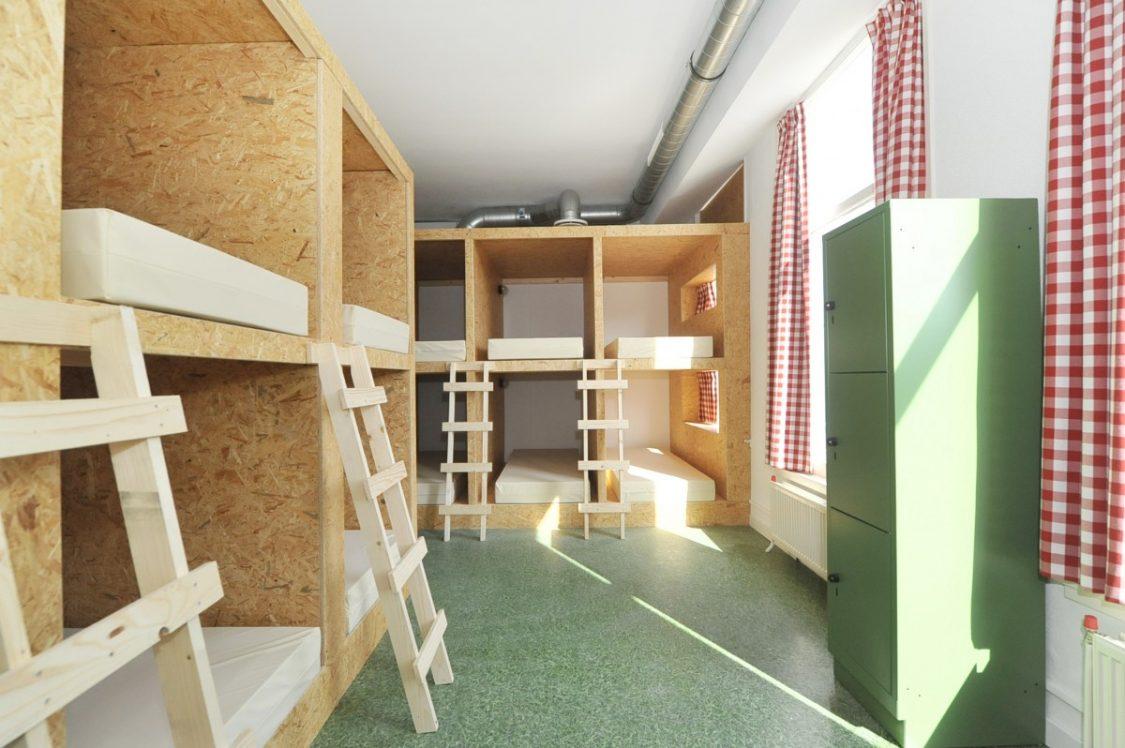 De capsulekamer van het Kingkool hostel. ©Kingkool.