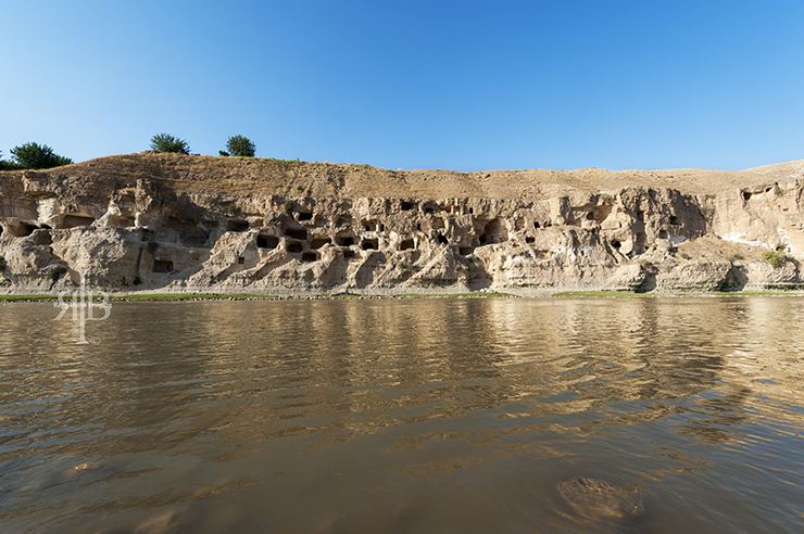 Hasankeyf Caves Front