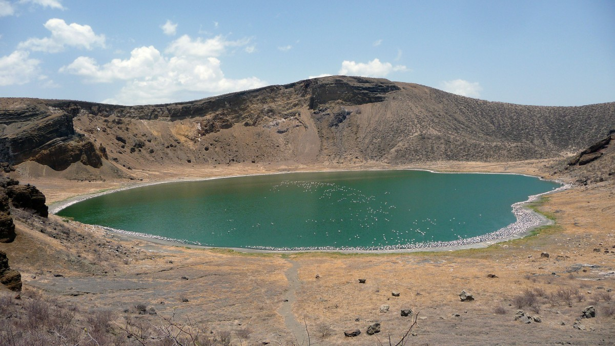 Central Island in Lake Turkana