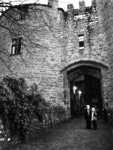 Entrance of St. Briavels Castle. ©Nichola West.