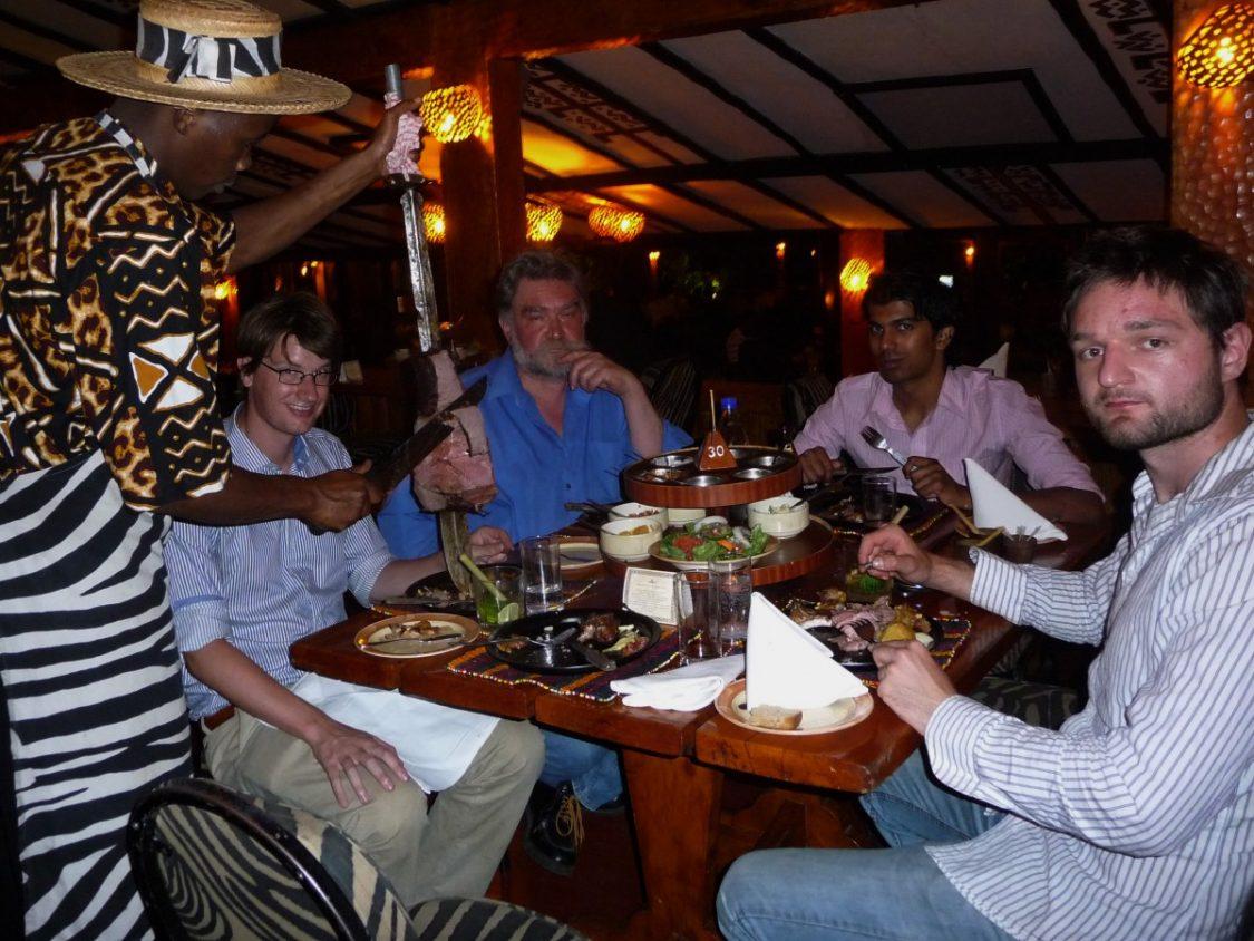 Carnivore restaurant Nairobi in Kenya by Bunch of Backpackers
