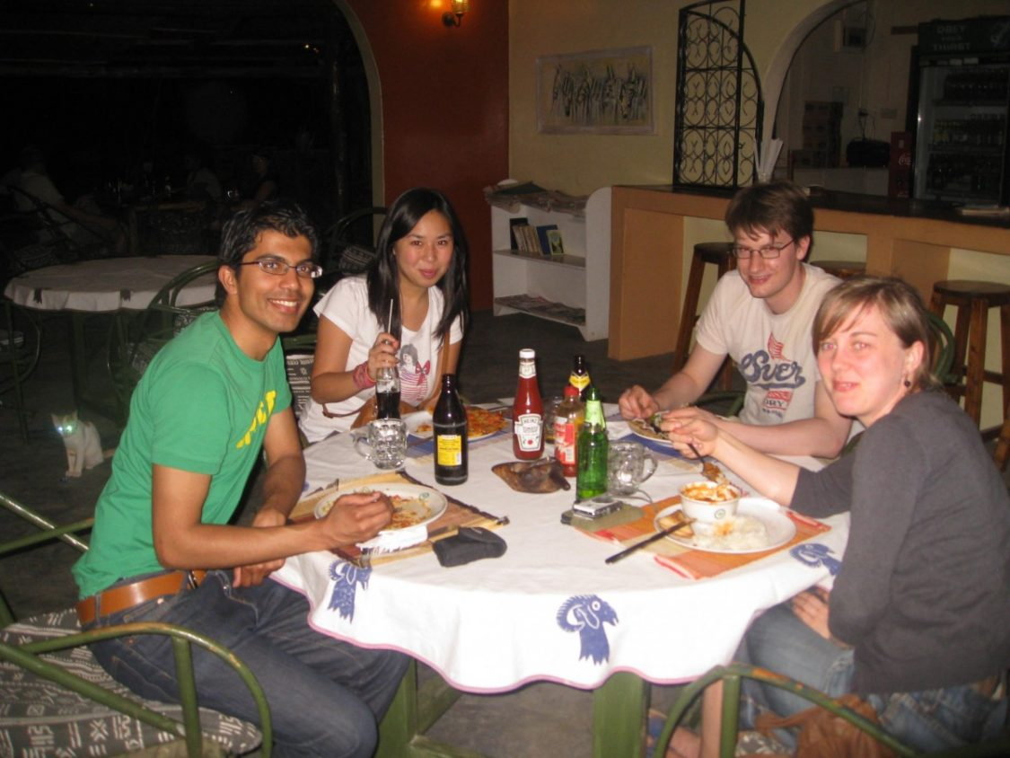 Have a tusker with your meal. ©Bunch of Backpackers.