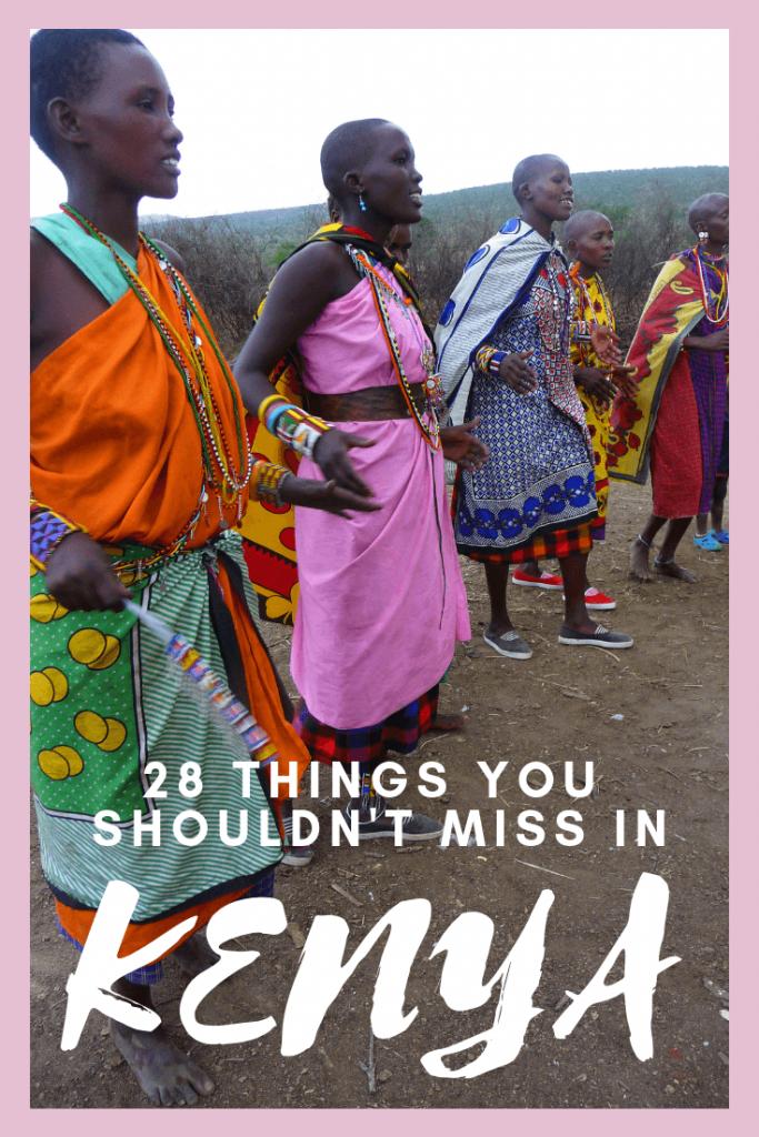 Things not to miss in Kenya tips