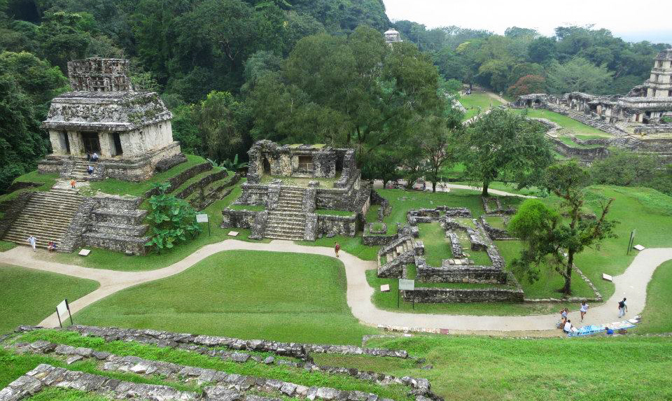 Palenque ruins Mexico. ©David Beattie.