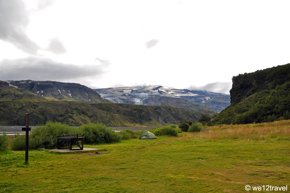 Camping in Thorsmork. ©We12travel