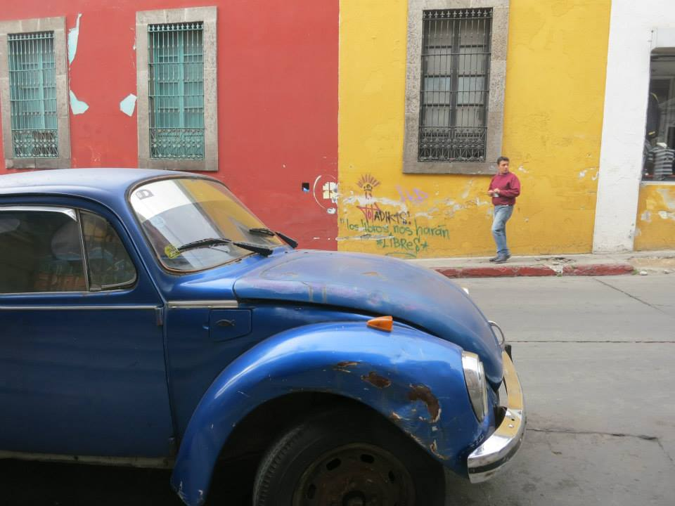 Guatemala David Blue Car