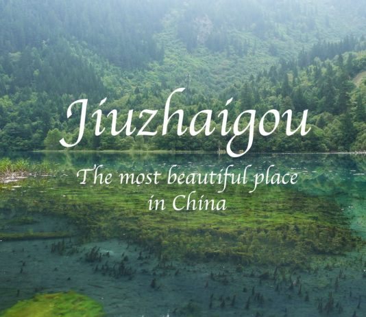 Most beautiful place in china