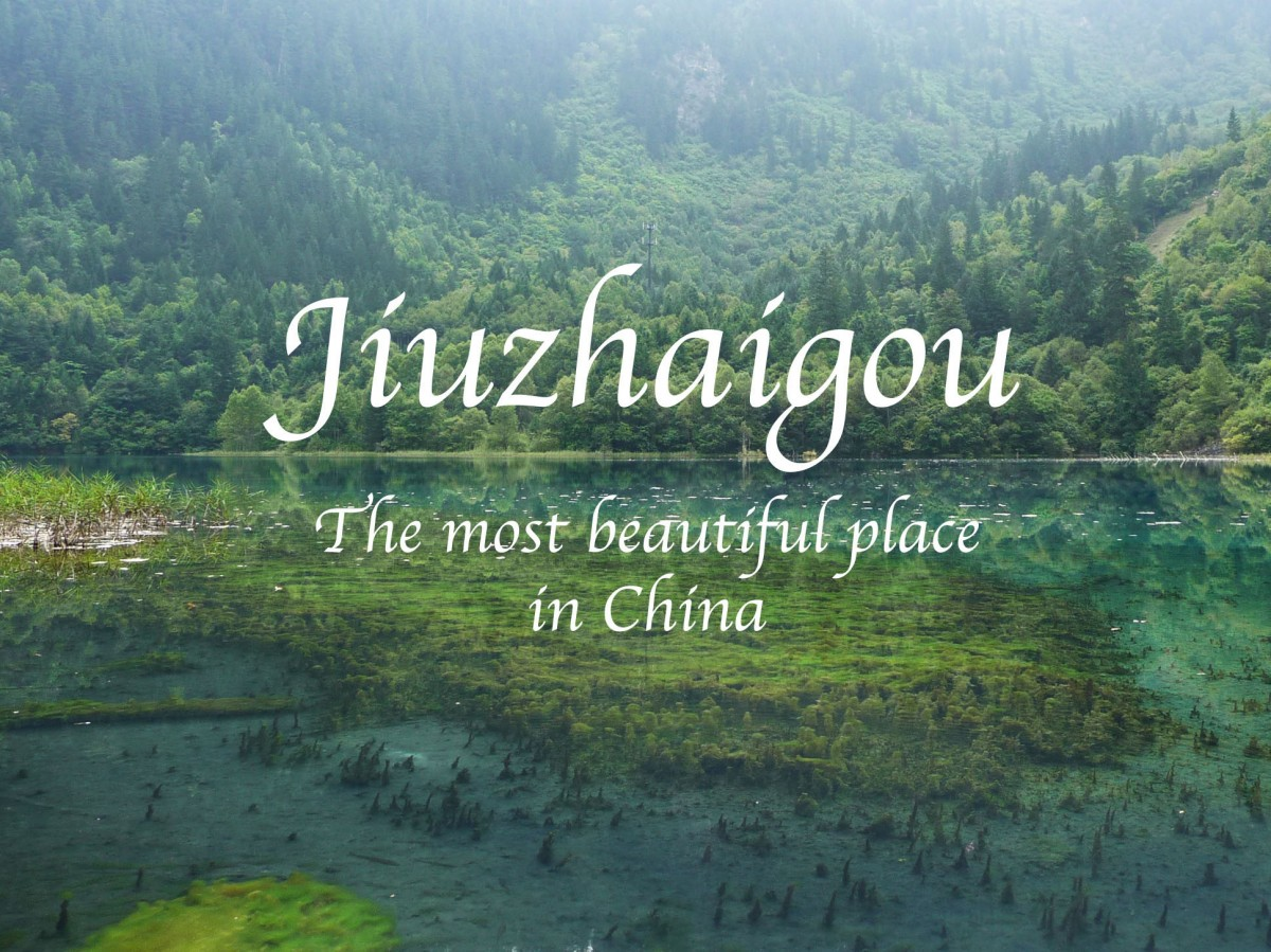 Jiuzhaigou The Most Beautiful Place In China Bunch Of