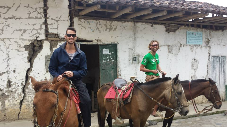 Horse riding Colombia