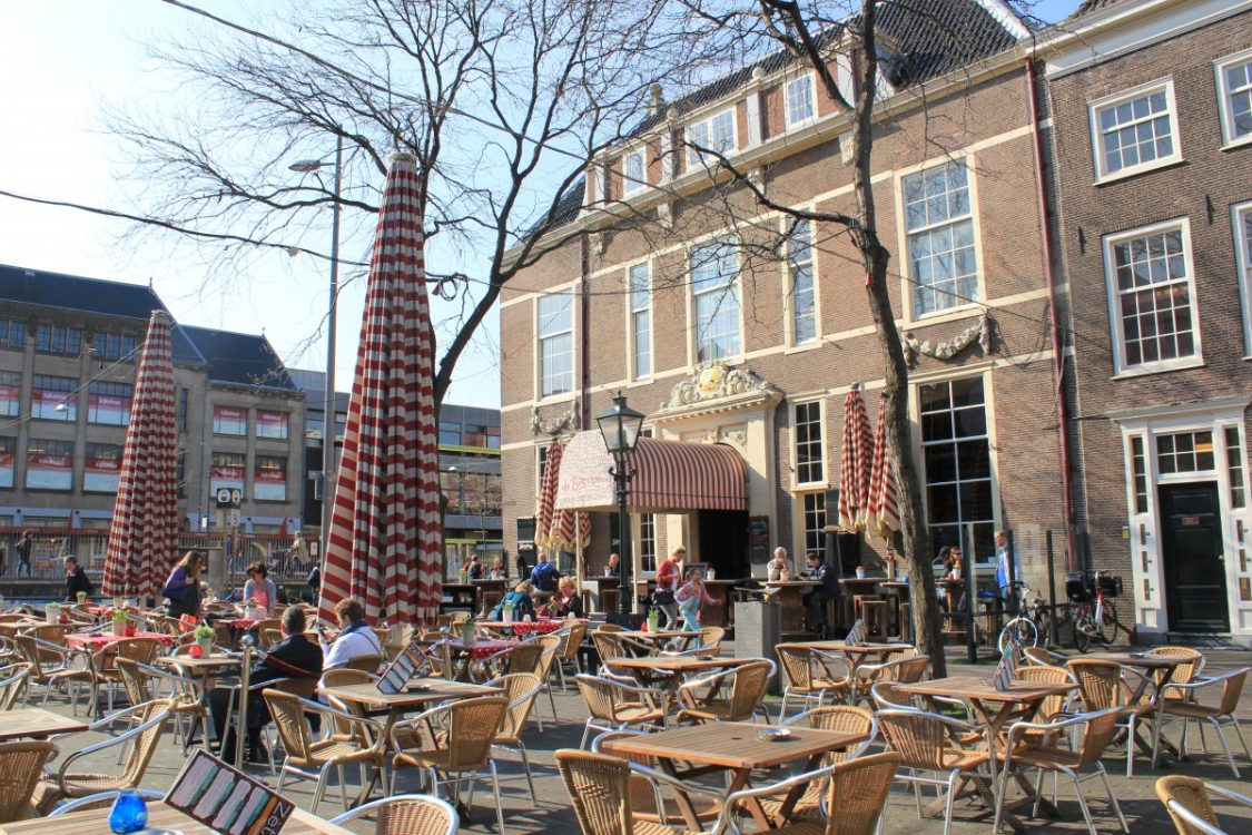 Terrasje Den Haag