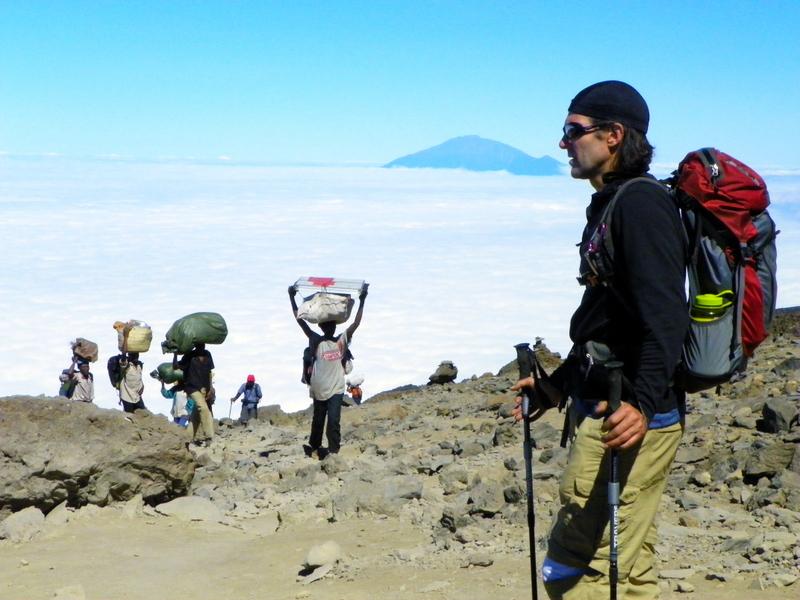 Trekking Mt. Kilimanjaro. ©Mapping Megan.