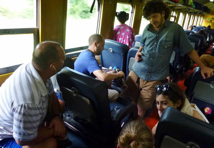 Train Bangkok to Chiang Mai. ©Wagoners Abroad