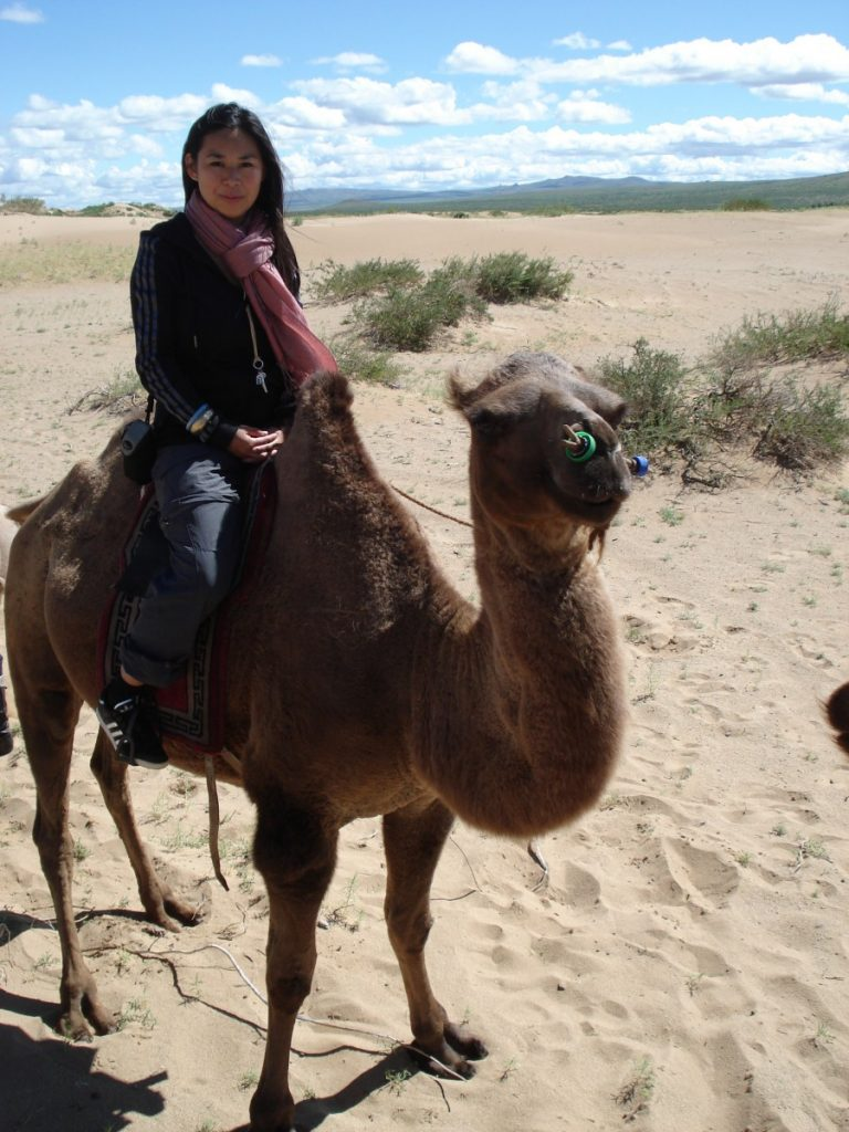Camel riding the next day. ©Bunch of Backpackers.