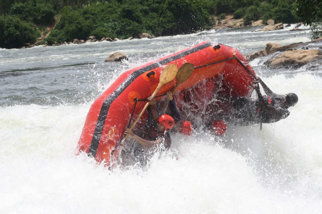 Rafting. Photo taken by Nile  River Explorers.