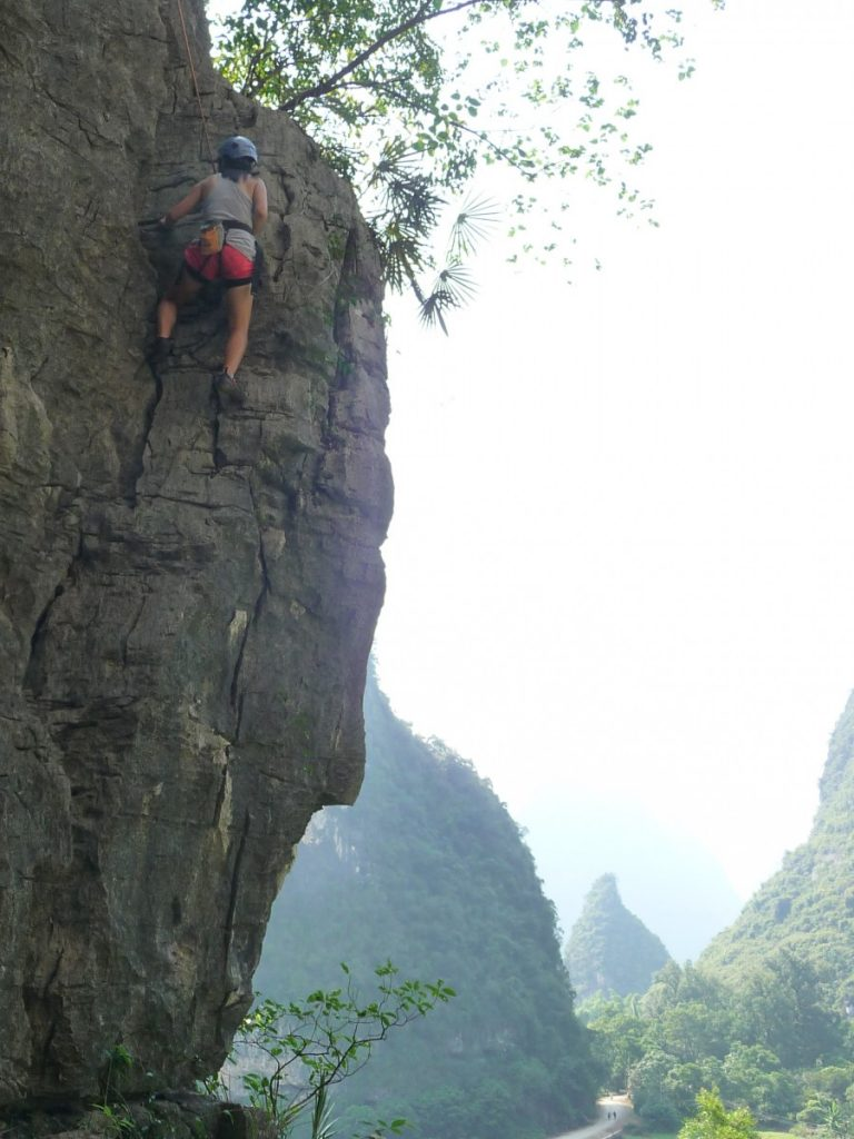 Rock climbing ©Bunch of Backpackers
