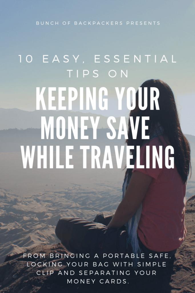 Travel safety money