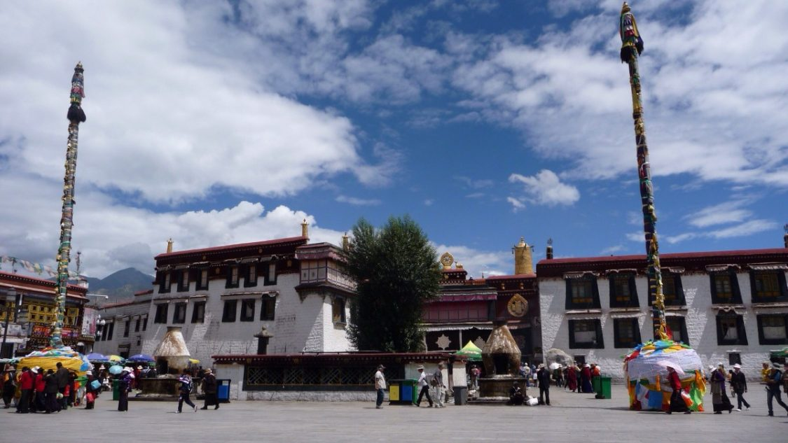 Lhasa Square By Bunch ofBackpackers