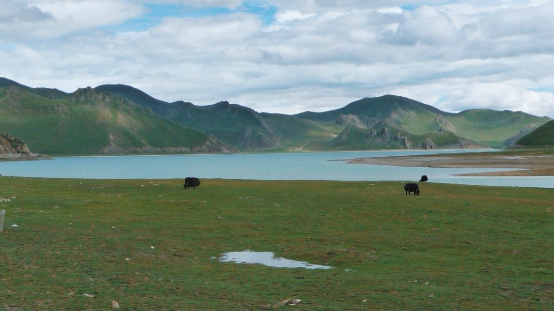 Tibet Lake by Bunch of Backpackers