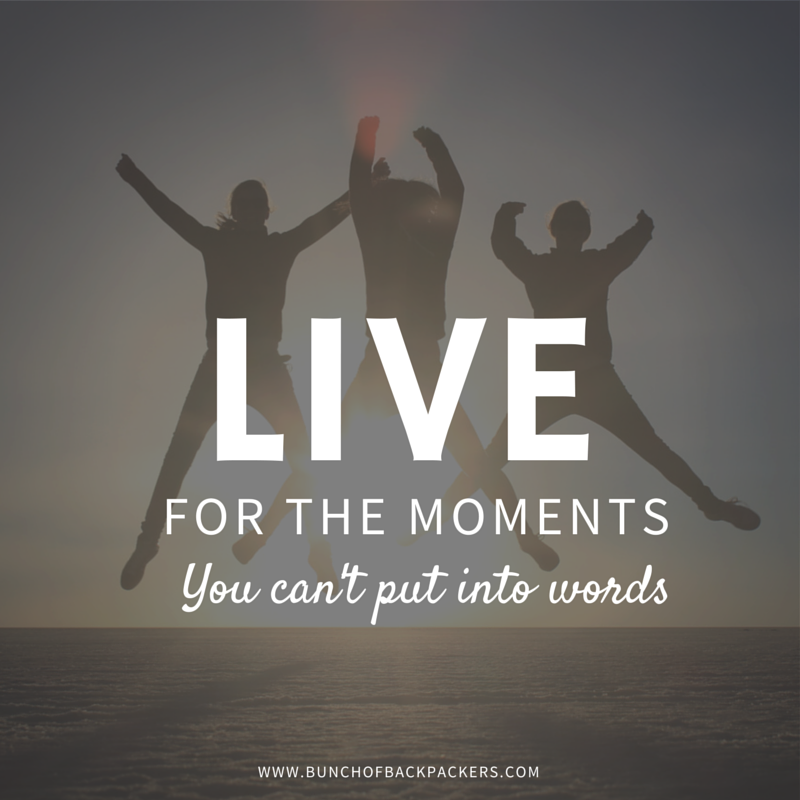 Live for the momentsyou can't put into (2)