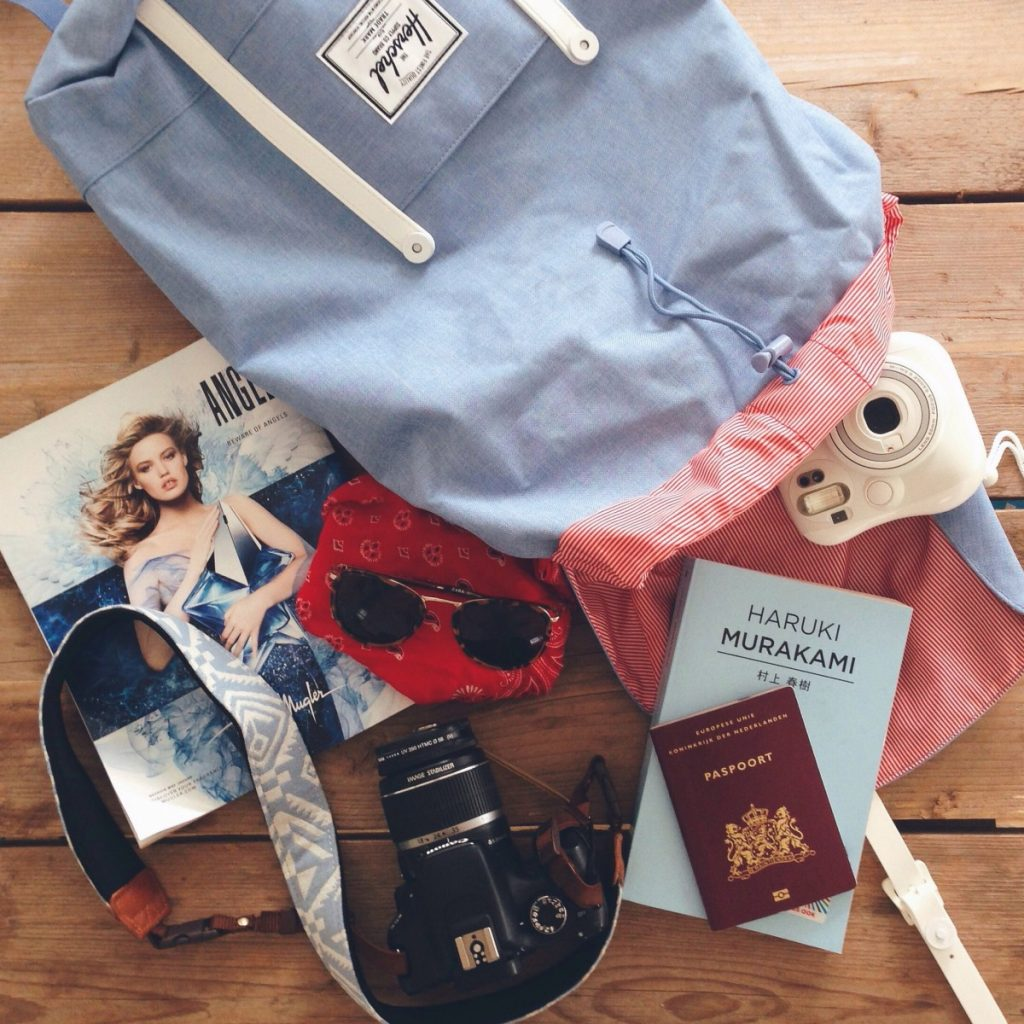 Favorites Sri Lanka Herschel Chambray Backpack Kekke Camerariem Murakami Go Pro