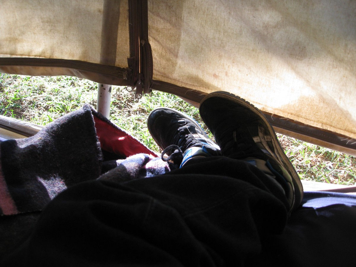 Camping beginners