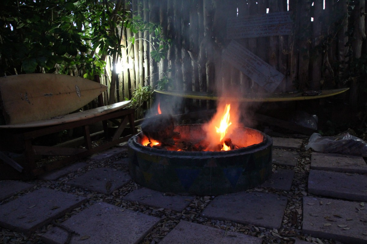 A must do in South Africa: braai!