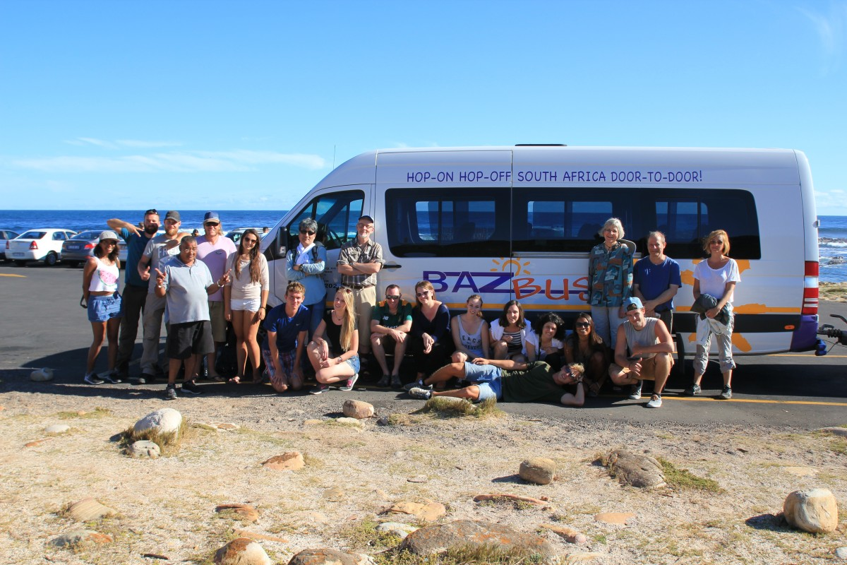Baz Bus Cape Peninsula Tour! Loads of fun!