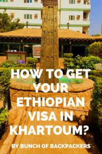 Update on how to get your Ethiopian visa in Khartoum, Sudan: costs